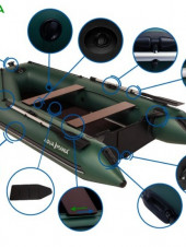 """Лодки """"Аква Мания"""" для активного отдыха или стать независимым — легко"""