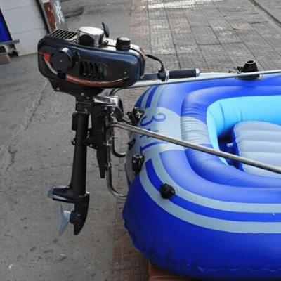 Выбор бензинового мотора для надувной лодки ПВХ