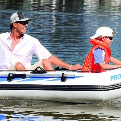 Преимущества двухместной резиновой лодки
