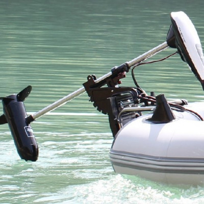 Электромоторы для надувных лодок ПВХ — мифы и реальность