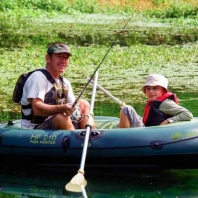 Як вибрати кращий надувний човен для риболовлі?