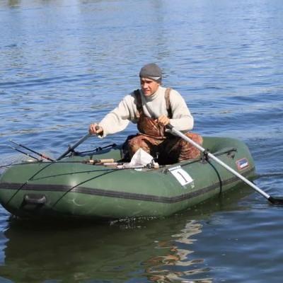 Выбор надувной лодки и фурнитуры для ловли спиннингом