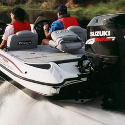 Особенности модельного ряда подвесных лодочных моторов Suzuki