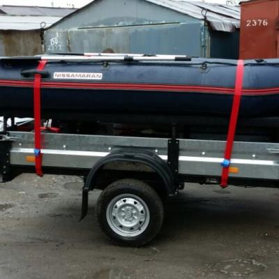 Перевозка ПВХ лодок в сдутом и готовом к спуску на воду виде