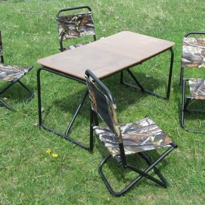 Как выбрать туристический складной стол?