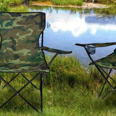 Как выбрать стул для рыбалки?