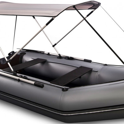 Тенты для надувной лодки: какие бывают и как выбирать?
