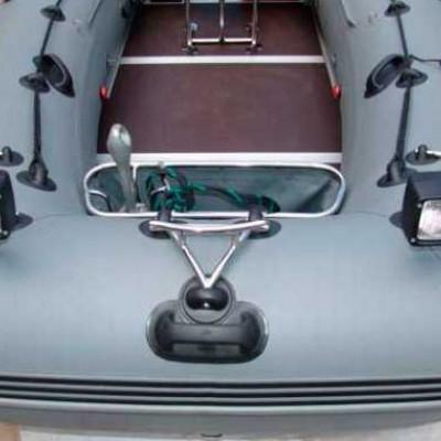 Тюнинг надувной лодки ПВХ: аксессуары для доработки