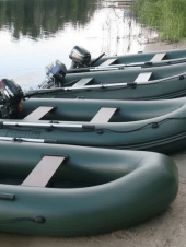 Главные отличия плоскодонных моторных и килевых моторных надувных лодок