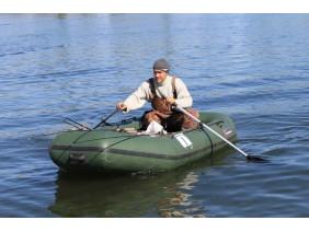 Вибір надувного човна і фурнітури для лову спінінгом