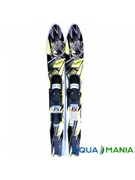 Лыжи Contour 163 см с креплением (BG811)