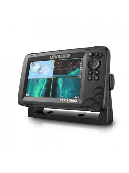 Ехолот Lowrance HOOK REVEAL 7 TRIPLESHOT