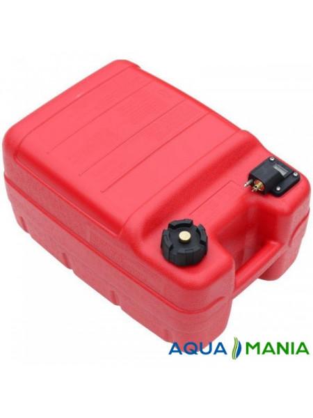 Бак топливный, тип Parsun c коннектором Yamaha 24л ( TANK 24 new)