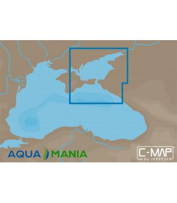 Карта С-МАР Азовське море, східна частина Чорного моря