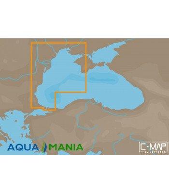 Карта С-МАР MAX-N EM-N120 - Західна частина Чорного моря