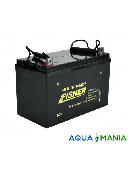 Аккумулятор Fisher 12B (80Ah гель)