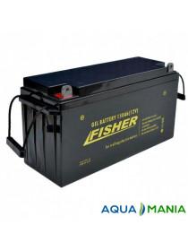 Акумулятор Fisher 12B (150Ah гель)
