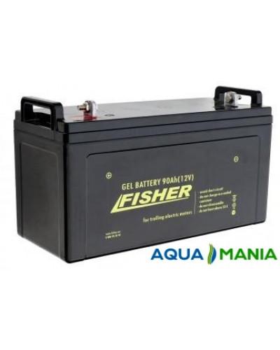Човновий Електромотор Fisher 32 + акумулятор agm 90Ah