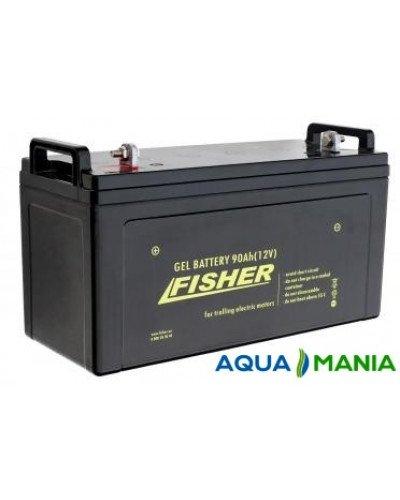 Лодочный Электромотор Fisher 32 + аккумулятор agm 90Ah