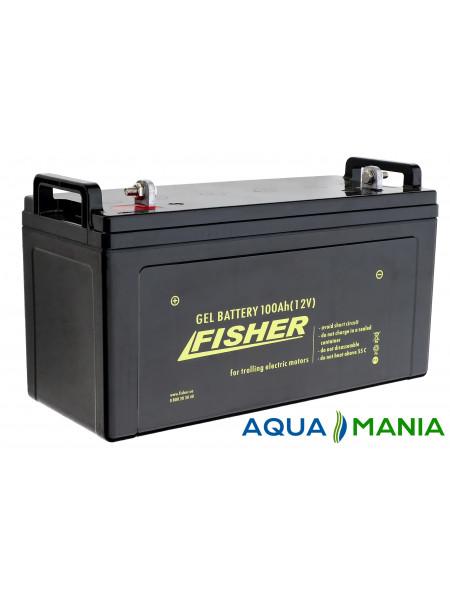 Аккумулятор Fisher 12B (100Ah гель)