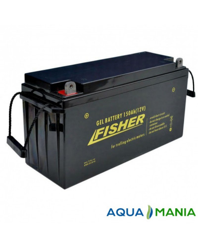 Лодочный Электромотор Fisher 46 + аккумулятор гель 150Ah