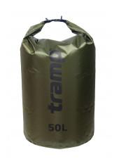 Гермомешок Tramp PVC (50л) оливковый Diamond Rip-Stop