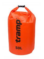 Гермомешок Tramp PVC (50л) оранжевый Diamond Rip-Stop