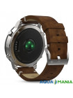 Навигатор на запястье Garmin fenix Chronos - Steel with Vintage Leather Watch Band