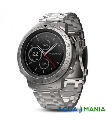 Навігатор на зап'ястя Garmin fenix Chronos - Steel with Brushed Stainless Steel Watch Band