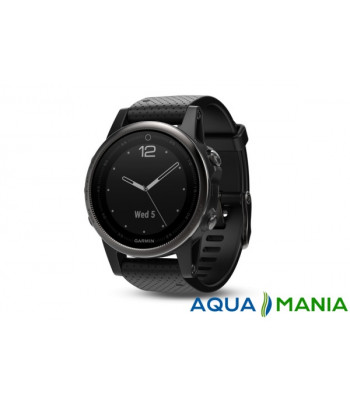 Навігатор на зап'ястя Garmin fenix - 5 Sapphire - Black with black band