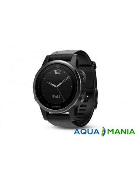 Навигатор на запястье Garmin fenix - 5 Sapphire - Black with black band