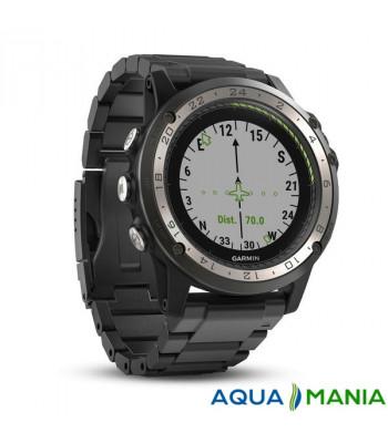 Навигатор на запястье Garmin D2 Charlie, Titanium, GPS Aviation Watch, EMEA