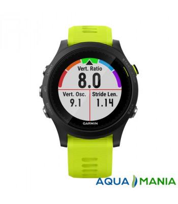 Навігатор на зап'ястя Garmin Forerunner 935 Black & amp; Yellow Tri-Bundle (GPS, Мультиспорт, 2 датчика серця HRM-Tri + HRM-Swim)