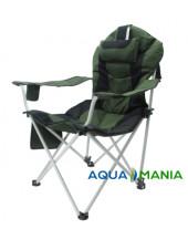 Карповое кресло Premium AQUA MANIA green