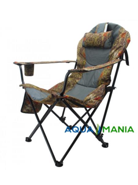 Карповое кресло Premium AQUA MANIA forest
