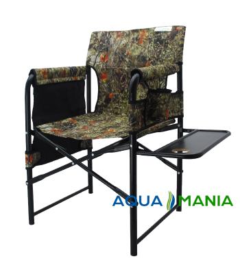 Крісло для риболовлі зі столиком AQUA MANIA  ліс