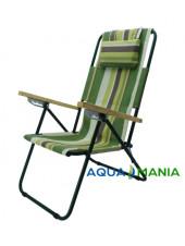 Кресло шезлонг AQUA MANIA зеленое