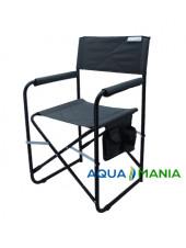 Кресло для рыбалки AQUA MANIA серое