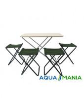 Стол и стулья для пикника AQUA MANIA