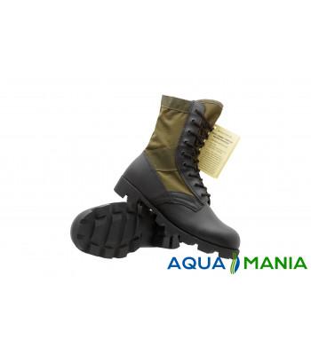 Армійські берци (черевики) Us Od Panama Jangle Mil-Tec Black