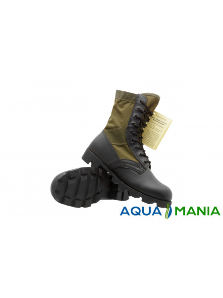 Армейские берцы (ботинки) Us Od Panama Jangle Mil-Tec Black