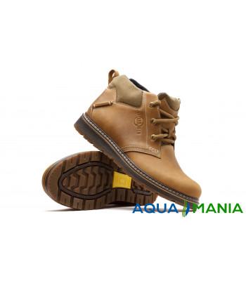 Ботинки демисезонные коричневые