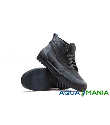 Ботинки демисезонные черные