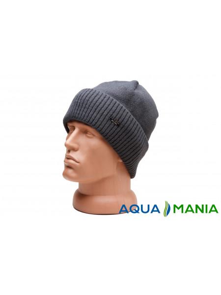 Теплая шапка с подкладкой флис