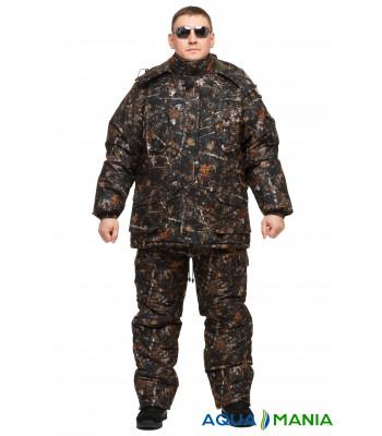"""Костюм для зимової риболовлі з мембранної тканини """" Темний ліс """" до -30 ℃ розмір 46-62"""