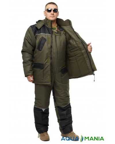 """Костюм для зимней рыбалки и охоты """"Турист"""", хаки, размер 48-62"""