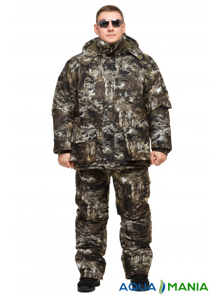 """Теплый зимний костюм для рыбаков и охотников """"Снайпер"""" размер 46-62"""