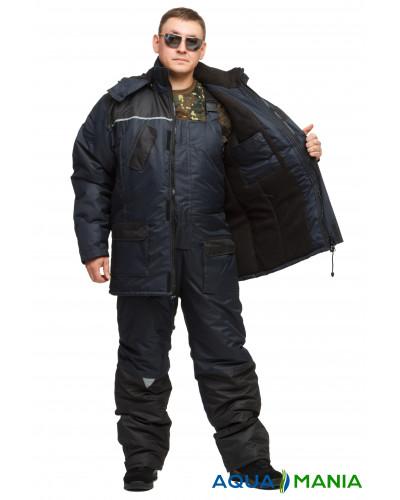 """Костюм для зимней рыбалки и охоты """"Турист"""", синий, размер 48-62"""