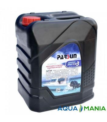 Масло Parsun для двотактних двигунів, TCW3 Premium Plus, 20 літрів