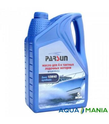 Масло PARSUN 4-х тактное 10W40 полусинтетика 5 литров